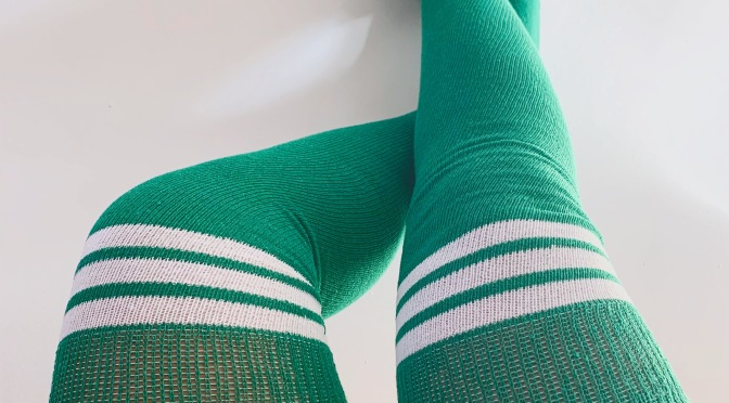 Christmas Socks By Chrissy Knee High Socks
