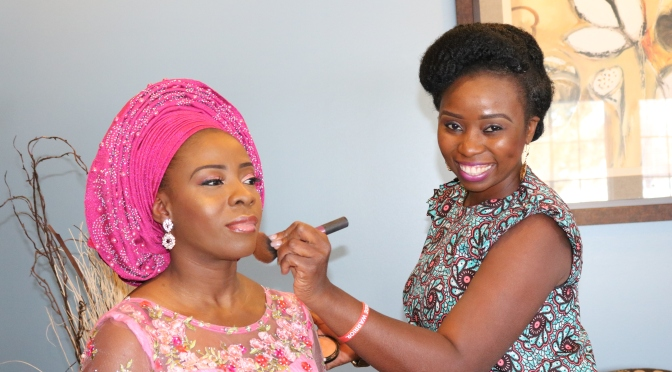 Recap : Master Class in Makeup & Gele Head Tie with Simi Kesh