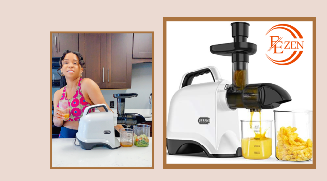 Living A Healthy Lifestyle With Fezen Masticating Juicer